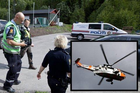 Politiet tror den savnende 17 år gamle jenta ble funnet av turgåere ved 16.20-tida lørdag. Jenta er fraktet til Ullevål og politiet fortsetter leteaksjonen fram til de er sikre på at riktig jente er funnet.