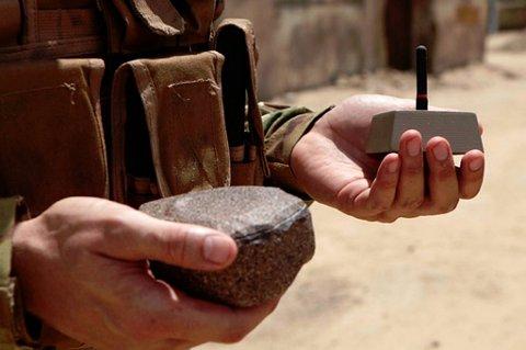 Forkledt som en stein er denne sensoren vanskelig å avsløre.