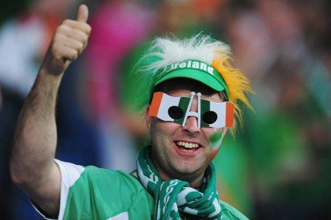 Det ble ikke mye å juble for da Irland møtte Kroatia, men draktnumrene har de i alle fall styr på.