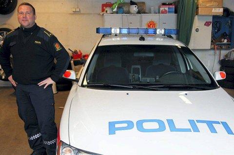 BEKYMRET: Tillitsvalgt Odd Børre Evensen er ikke fornøyd med bemanningen i Øst-Finnmark politidistrikt.