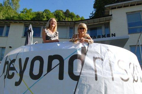 Sari Syväluoma og Nina Gresvig jobber for tiden intenst frem mot Kick-off for årets BeyondRisør.