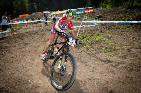 Gunn-Rita Dahle Flesjå kan forberede seg på OL-start.