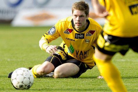 SPILLER: Johan Anderson skal fungere som anker på midtbanen i treningskampen mot GAIS.