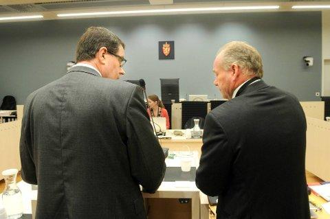 Rettspsykiaterne Terje Tørrissen og Agnar Aspaas forklarte seg i retten mandag.