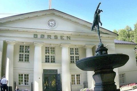 Det ble en ujevn start på dagen for Oslo Børs.