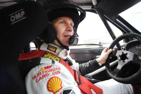 Petter Solberg innledet Rally New Zealand forsiktig.