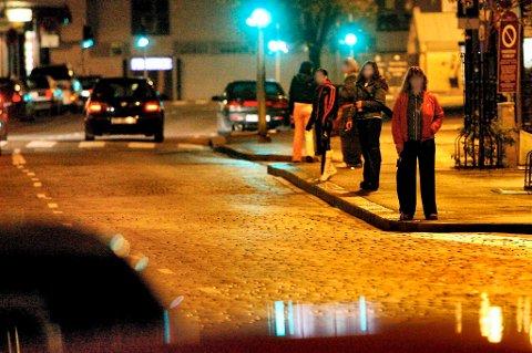Bare fra 2010 til 2011 økte antall prostituerte på gata og innemarkedet med 28 prosent.