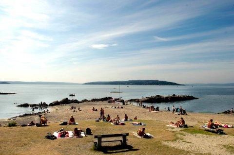 Flertallet av dem som ferierer i hjemlandet, er lavtlønte, viser undersøkelse. Dette er Huk i Oslo.