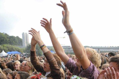 De siste billettene til Øyafestivalen er nå solgt. Bildet er fra Øya i 2009.