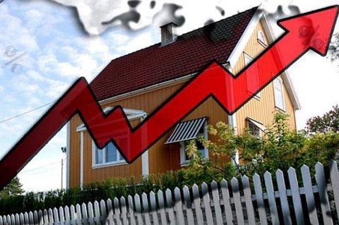 Nordmenn flest er ikke bekymret for renteoppgang på boliglånet.