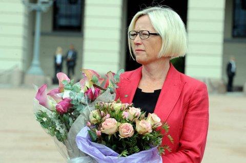 Mange kan tenke seg Marit Arnstad som ny Sp-leder, mens selv ønsker hun ikke å bli det.