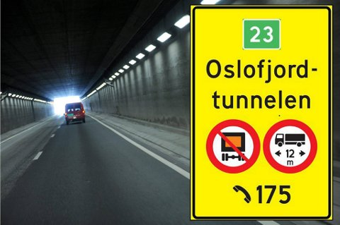 Statens vegvesen åpner Oslofjordtunnelen for alle store kjøretøy fredag klokken 6.