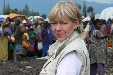 Flyktninghjelpens generalsekretær Elisabeth Rasmusson var i bilkolonnen som ble angrepet i Kenya i dag.