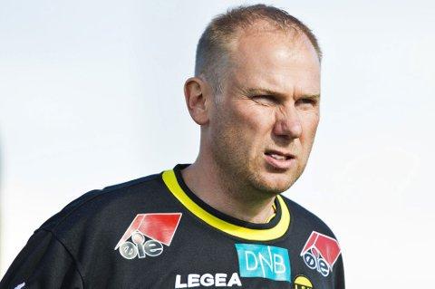 FOKUS PÅ LSK: LSK-trener Magnus Haglund forteller at LSK kun har fokus på seg selv foran cupkampen mot Bodø/Glimt. Laget skal reise seg etter den svake kampen mot Sandnes Ulf.