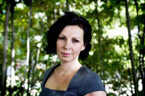 """Kristine Tofte debuterer med den todelte fantasyromanen """"Song for Eirabu"""", der bind 1, """"Slaget på Vigrid"""", slippes i disse dager. Foto: Paal Audestad"""