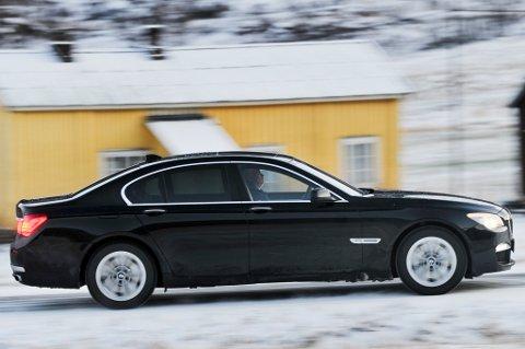 En slik BMW er Bodøs mest kostbare bil.