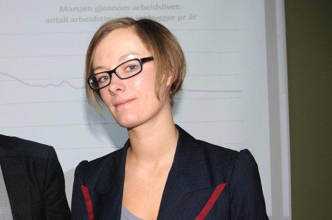 Anette Trettebergstuen mener at en aldersgrense på 75 år vil bli en viktig sak i neste års valgkamp.