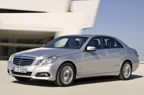 Mercedes E-klasse stopper minst, ifølge undersøkelsen.