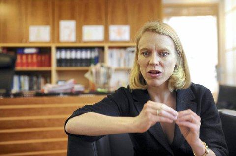 Idretten kan gjøre mye arbeid mot kamfiksing, men klarer ikke jobben alene, mener kulturminister Anniken Huitfeldt. Foto: Terje Pedersen, ANB