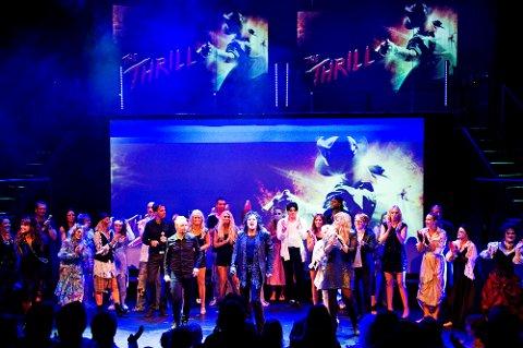 """""""The Thrill of Michael Jackson"""" fikk stående applaus etter en imponerende premiere i Tønsberg"""