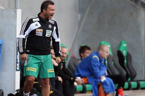 Trener Vegard Skogheim kunne glede seg over en viktig seier mot Ull/Kisa.