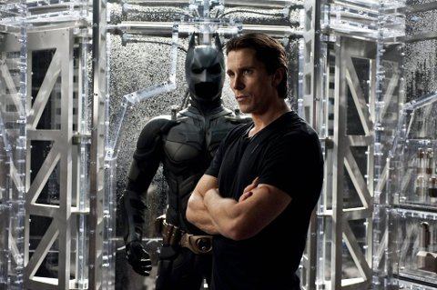 «The Dark Knight Rises» får norgespremiere 25. juli. Christian Bale spiller Batman.
