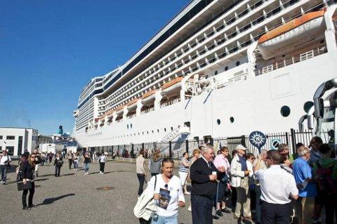 De utenlandske turistene har ikke sviktet Bergen så langt i år.