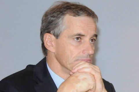 Utenriksminister Jonas Gahr Støre.