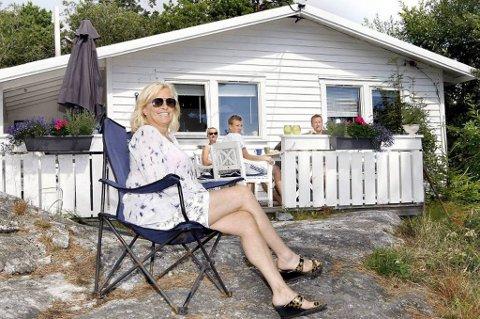 Tone Tynning vil gjerne låne bort hytta til folk som av økonomiske årsaker ikke har muligheten til å dra på ferie.