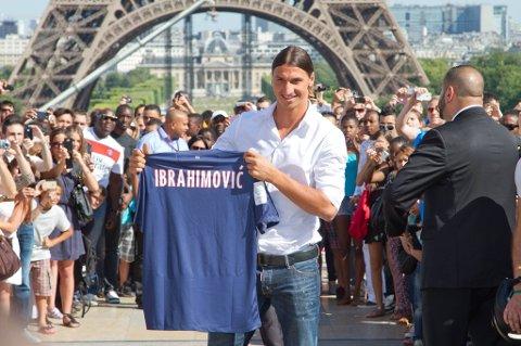 Ibrahimovic trengte ikke mange sekunder for å åpne målkontoen i PSG.