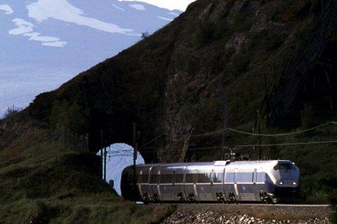 Full stopp: Bergensbanen står.