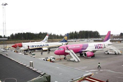 Sandefjord Lufthavn Torp hadde sterk trafikkøkning i juli.