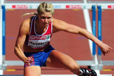 Ida Marcussen tangerte årsbeste på 100 m hekk.