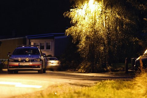 Politiet leter nå etter bilen som ble stjålet ved Stavern sent fredag kveld.