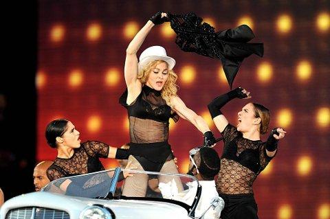 Madonna får krass kritikk av Elton John. Her fra en konsert på Valle Hovin i 2009.