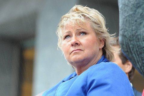 Høyre-leder Erna Solberg vitnet tirsdag i Krekar-saken.