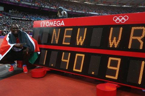 Olympisk gull på ny verdensrekord - bedre kan det ikke bli, David Rudisha!
