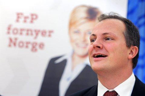 Finanspolitisk talsmann i Frp, Ketil Solvik-Olsen, vil gjerne være garantisten på borgerlig side for kraftige skattekutt.
