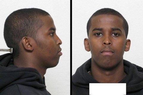 Politiet har frigitt dette bildet av den etterlyste 22-åringen.