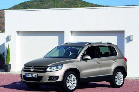 VW Tiguan har mer enn doblet salget så langt i år.