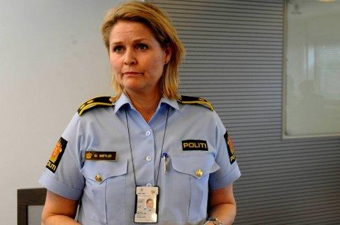 Politioverbetjent Grete Lien Metlid.