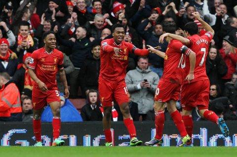 Vi tror på mer Liverpool-jubel.