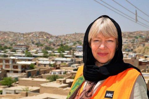 Flyktninghjelpens generalsekretær Elisabeth Rasmusson er bekymret for de sivile i Syria.
