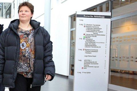 PASIENTSIKKERHET: Fagkonsulent Tonje Lorem i Skedsmo kommune forteller at de ikke tør bruke det nye nødnettet ved Nedre Romerike legevakt, av frykt for pasientsikkerheten.