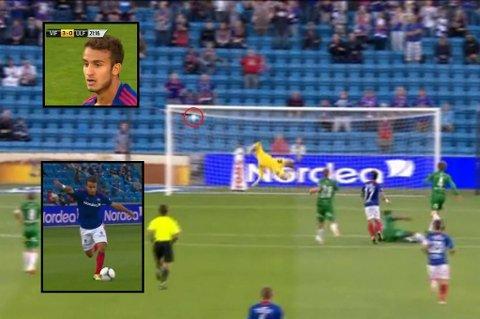 Mohammed Fellahs scoring var av det vakre slaget.