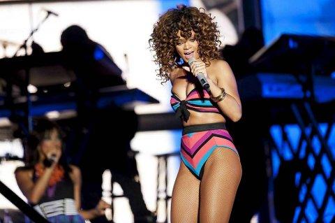 Rihanna minnes bestemor.