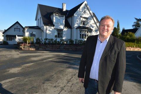 STJØRDALS DYRESTE: - Denne boligen i Nordre gate 1 er solgt for 10,5 millioner kroner, sier Geir Falck Anderssen.