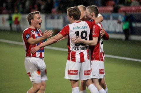 TIL ANDERLECHT?: Ruben Yttergård Jenssen gjorde i gjen en god kamp for TIL - denne gangen med belgiske Anderlecht på tribunen.