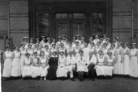 Ullevaal-elever anno 1920.