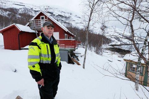 Da hytta falt innenfor nasjonalparkgrensen ble mulighetene på tomta kraftig innskrenket.